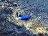 Kayaking on River Roe, Nov 2010
