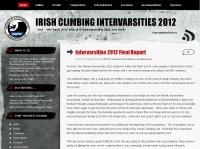 Irish Climbing Intervarsities Competition